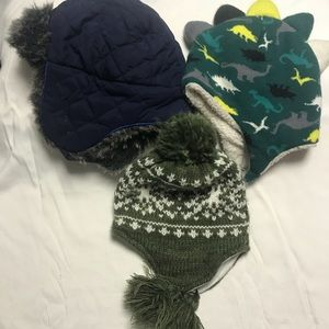 Other - Lot of 3 Toddler Winter Hat's.